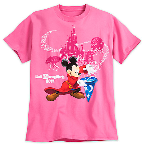 Your WDW Store Disney ADULT Shirt 2017 Sorcerer Mickey