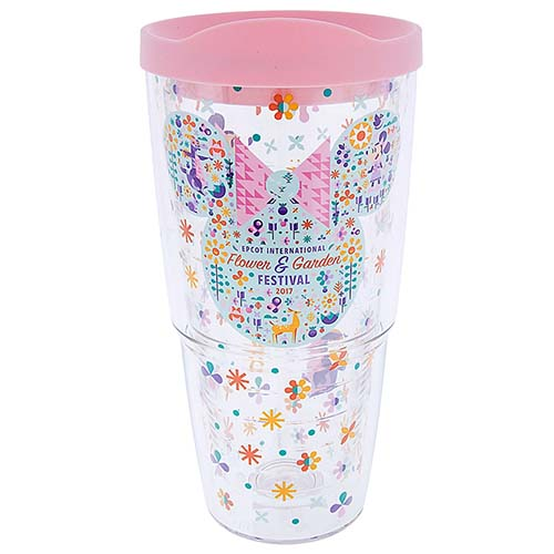 Disney Tervis Tumbler Flower And Garden 2017 Minnie Icon