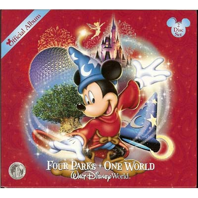 Your WDW Store Disney CD Four Parks One World 2 Disc Set