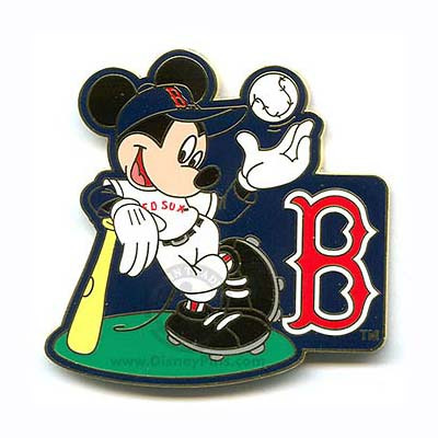 Your WDW Store Disney Mickey Mouse Pin Baseball Player