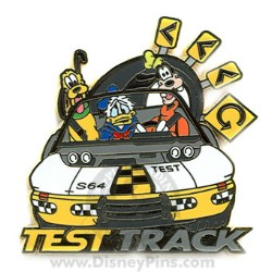 Disney Mystery Pin Amp Card Disney World Test Track