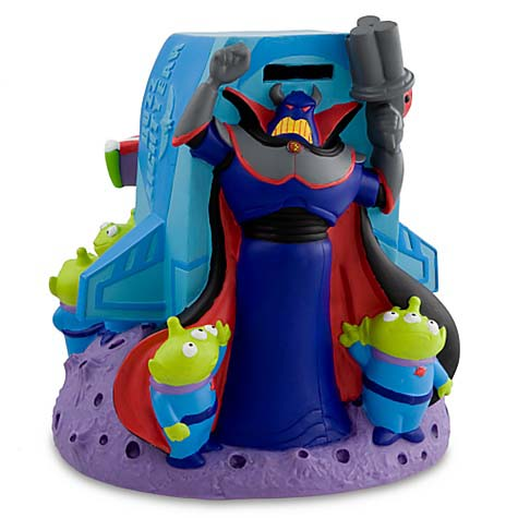 Disney Coin Bank Buzz Lightyear Space Ship Toy Story