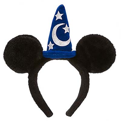 Disney Headband Hat Sorcerer Mickey Mouse