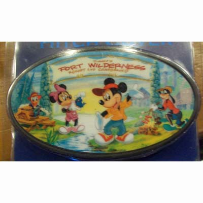 Disney Hitch Cover Fort Wilderness Mickey Storybook Logo