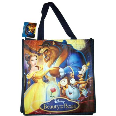 Disney Reusable Shopping Bag Belle And Beast
