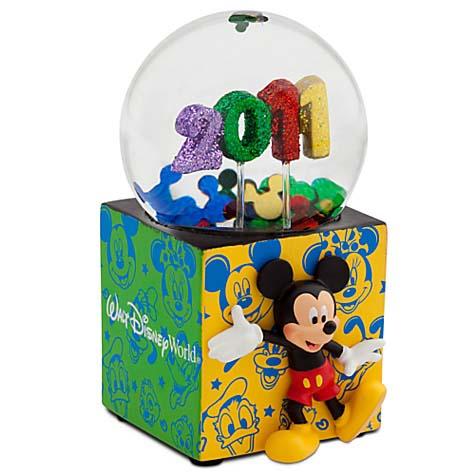 Your WDW Store Disney Snow Globe 2011 Walt Disney