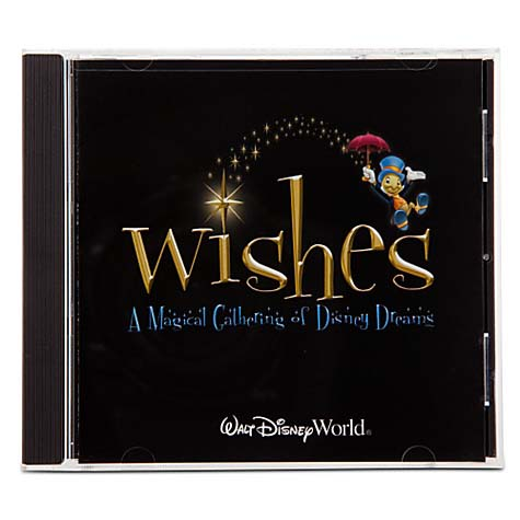 Your WDW Store Disney CD Wishes Magic Kingdom Fireworks