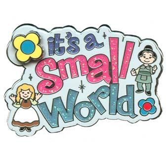 Disney Small World Pin Its A Small World Logo