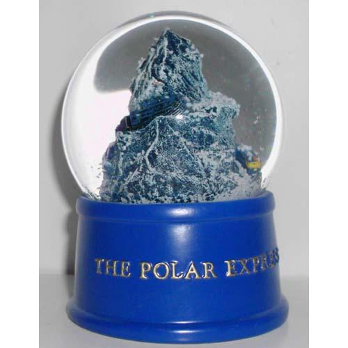 Sea World Snow Globe Polar Express Train