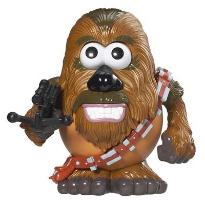 Disney Mr Potato Head Star Wars Star Tours Chewbacca Wookie