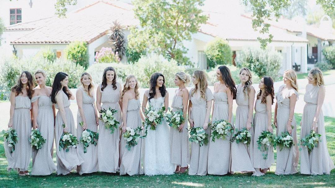 10 or more bridesmaids