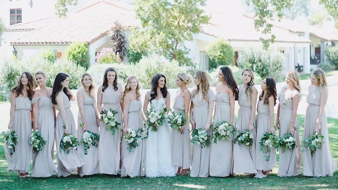 10 or more bridesmaids