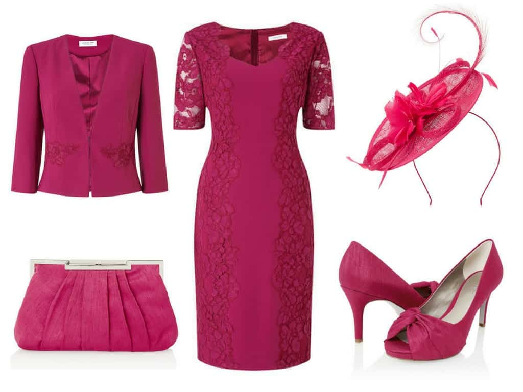 Pink Jacques Vert Mother of the Bride Outfit