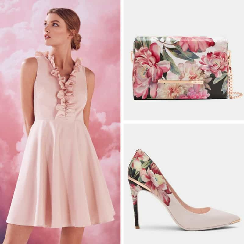 floral ted baker occasion outfit