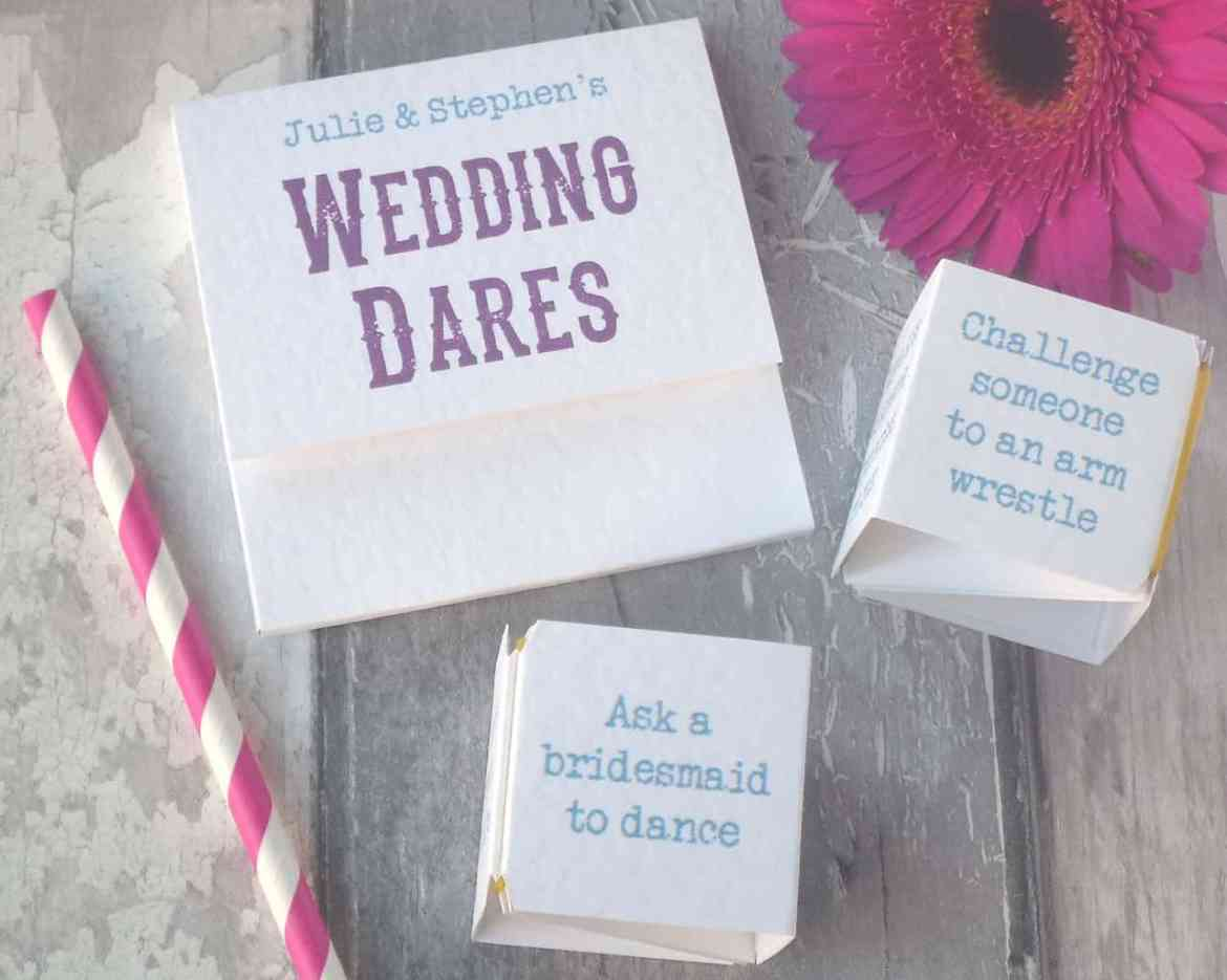 wedding day dares