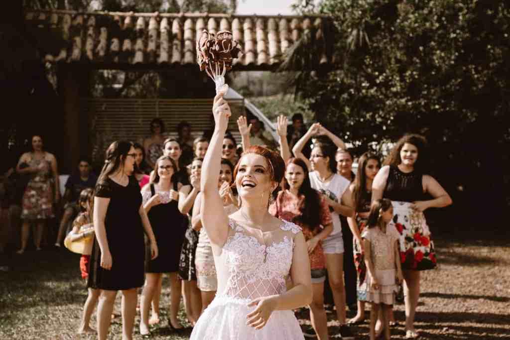 Why Do Brides Throw Their Wedding Bouquet?!
