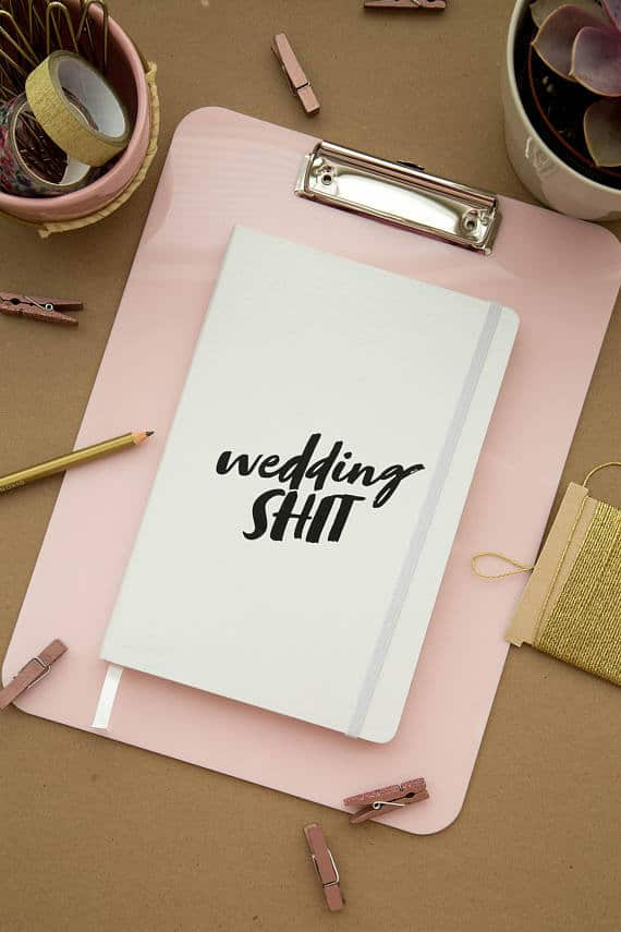wedding shit wedding planner
