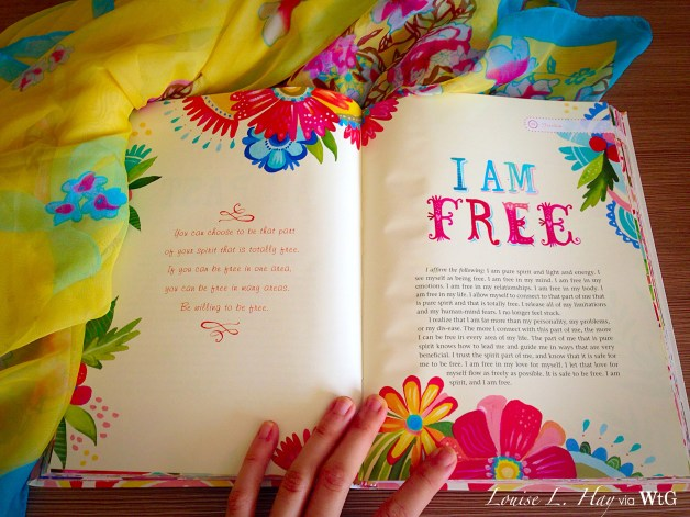 Freeing your mind is key to getting unstuck!