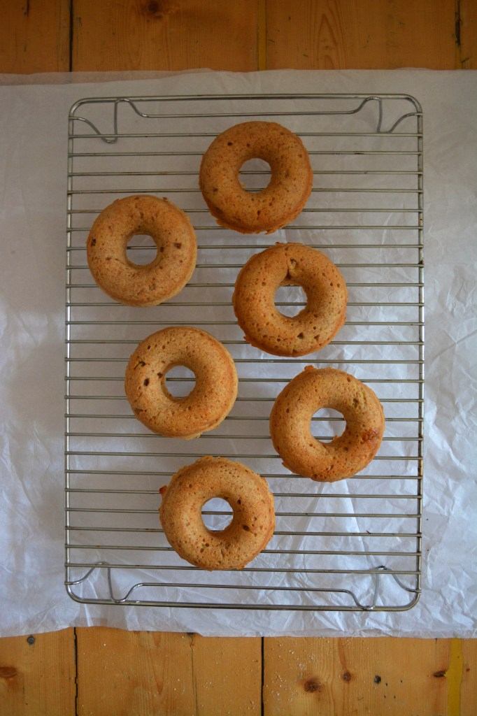 donuts after baking