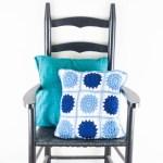 Crochet Sunburst Pillow