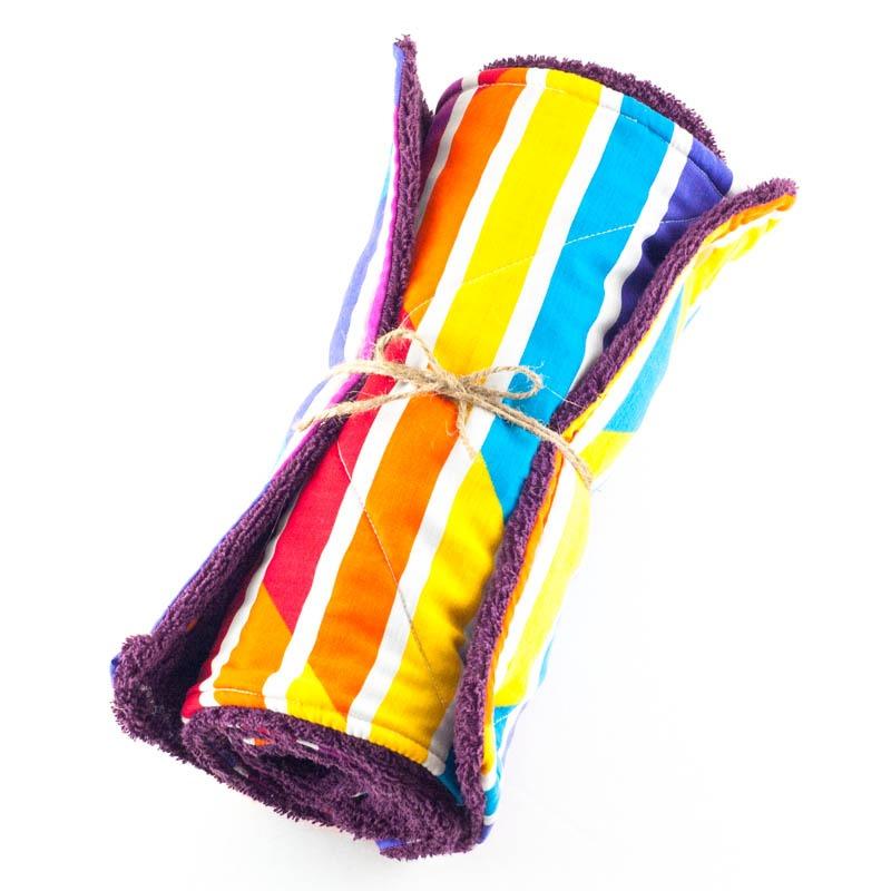 Fabric Un-Paper Towels   YouShouldCraft.com