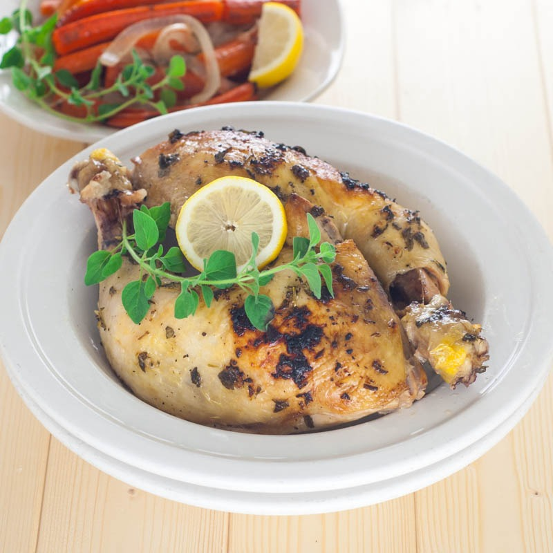 Lemon-Oregano Chicken and Vegetables