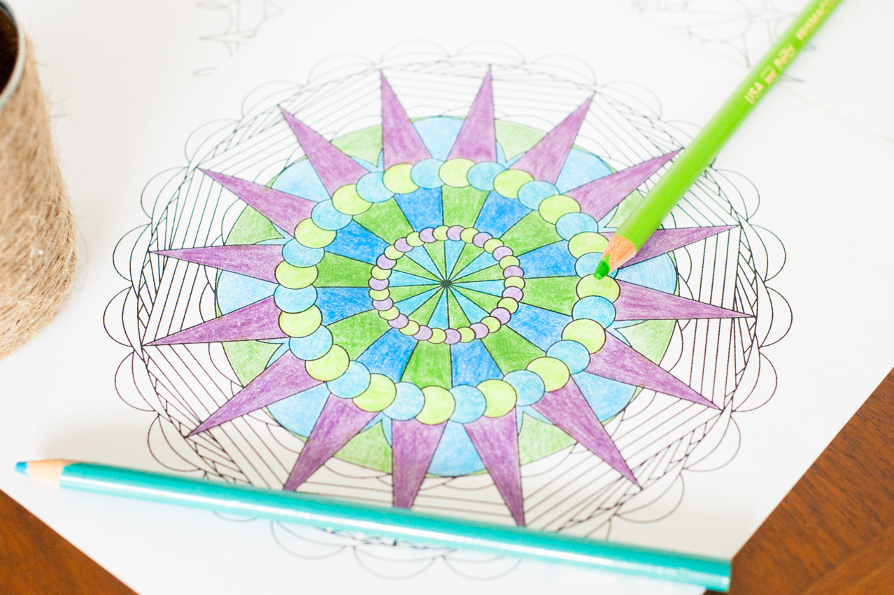 create your own mandala coloring pages you should craft