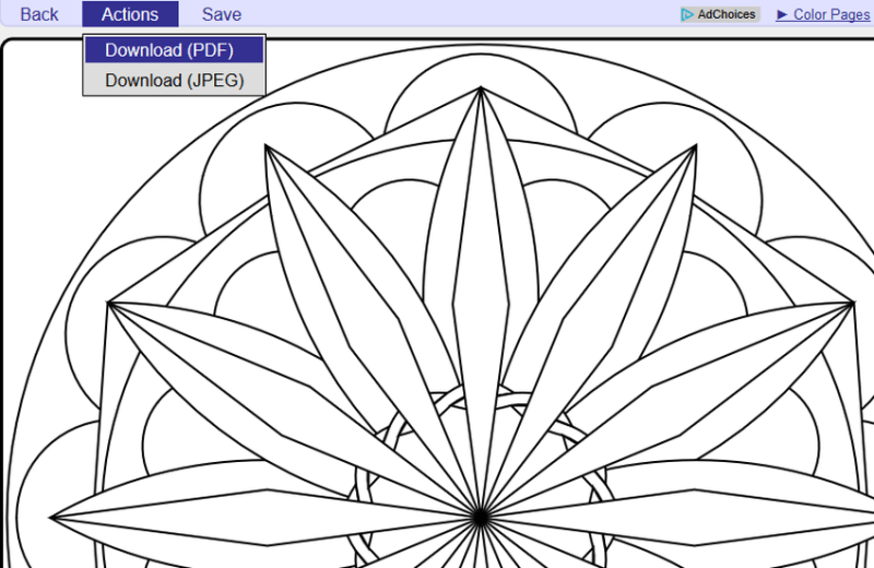 Ever wondered how to create your own mandala adult coloring pages? Learn how now, and never run out of material!