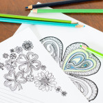 Adult Coloring Pages for St. Patrick's Day
