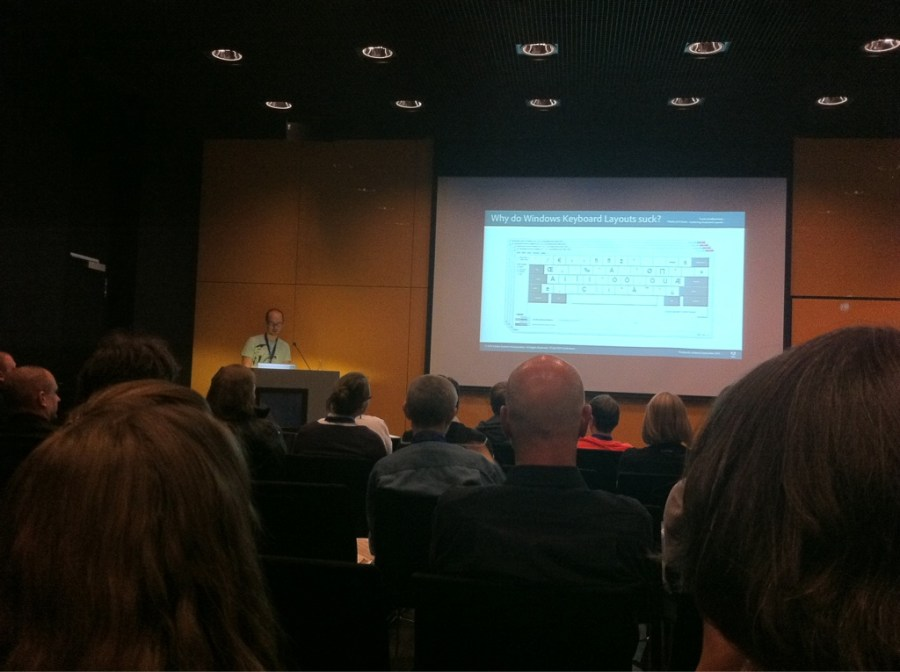 Frank's giving a great talk at ATypI