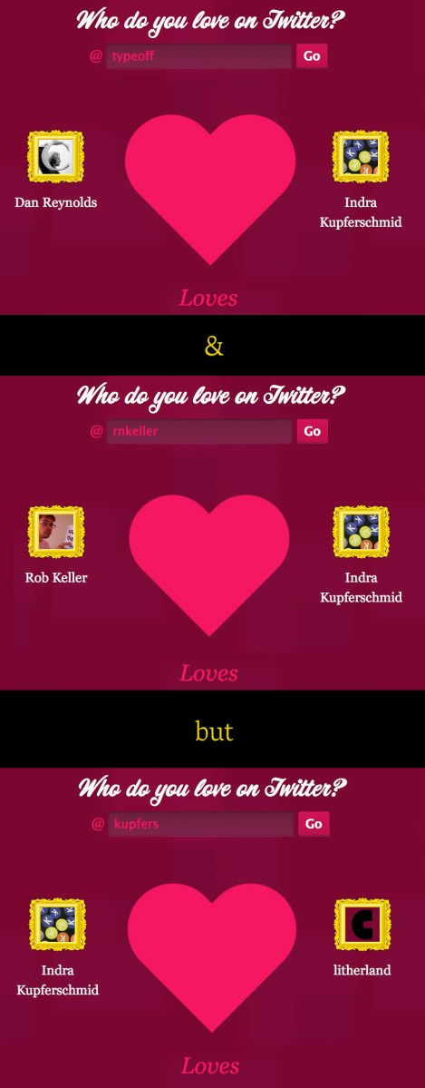 Who do you love on Twitter?
