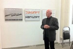 Klaus Rähm Wortschätze Exhibition