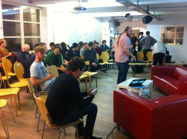 @upfront_ug is filling up fast. It's changed since I was last here! Looks good :)