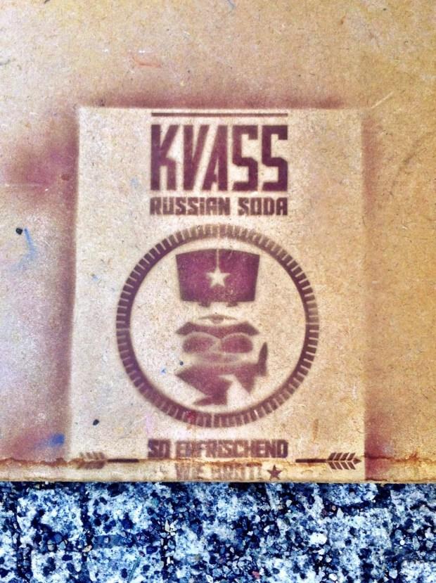 Sweet Kvass stencil