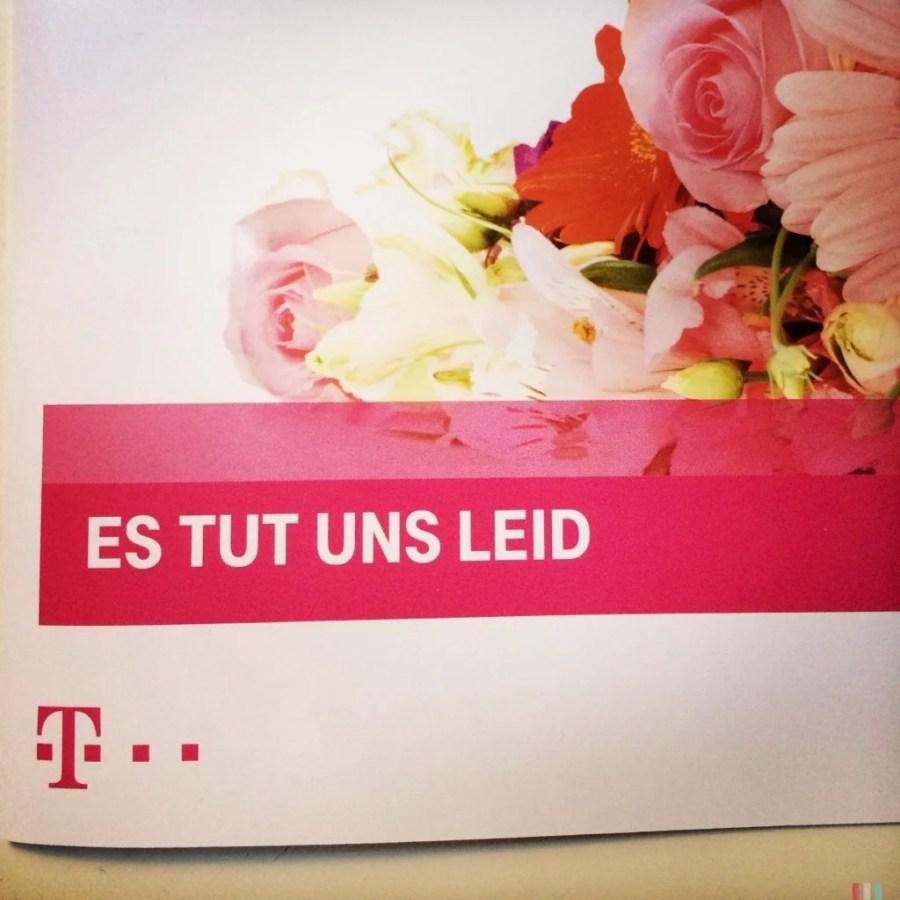 Please @Telekom_hilft, I don't want an apology card – I need my internet fixed.