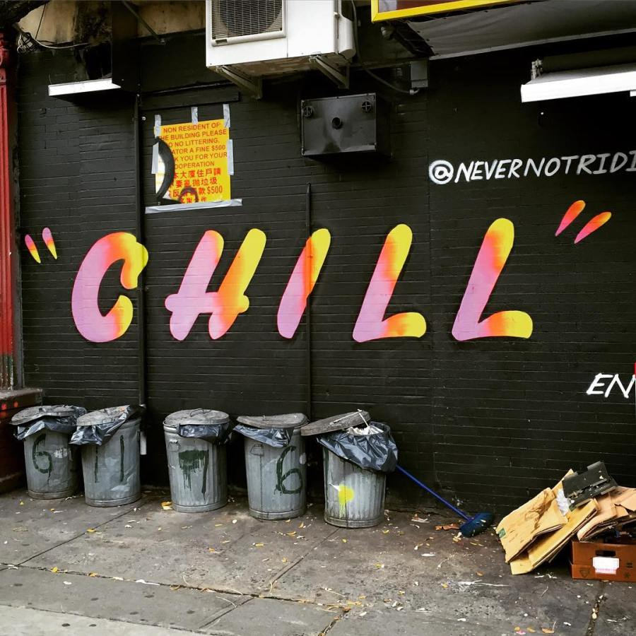 This one goes out to Mr. Chill