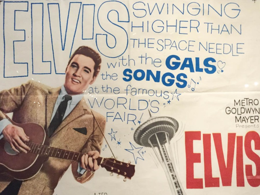 Vintage type from Graceland