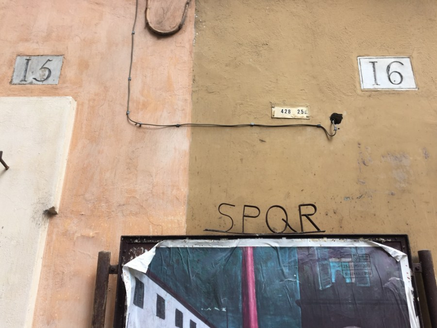 House Numbers from Rome