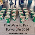 Five Fitness Ways to Pay it Forward in the New Year