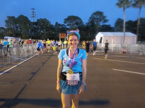 Enchanted 10K finish