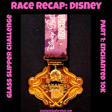 Race Recap Disney Enchanted 10K