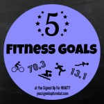 Friday Five: Fitness Goals