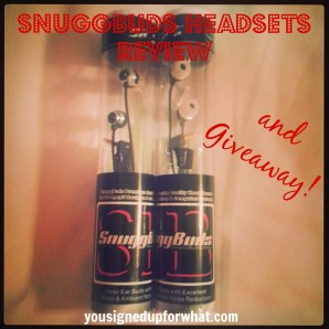 SnuggBuds two prizes