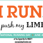 Five Things You Should do on National Running Day!