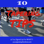 Tri Talk Tuesday: Ten Taper Tips