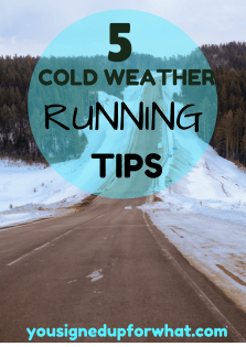 5 Cold Weather Running Tips