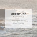 Friday Five: Gratitude