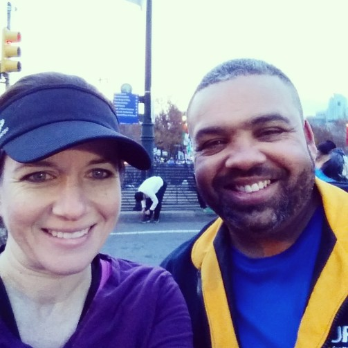 Philly marathon with Frank
