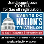 Race Goals & a Nation's Triathlon Discount Code