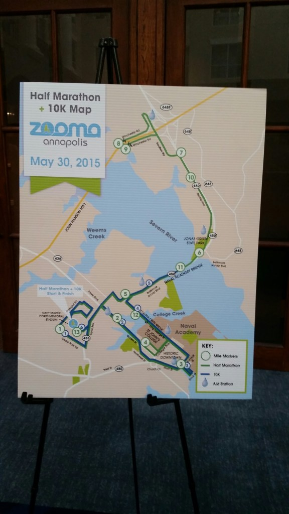 ZOOMA Annapolis course map